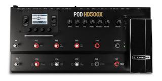Line 6 Pod Hd 500x Pedalera Para Guitarra