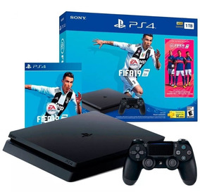 Console Playstation 4 Slim 1tb Usa Bundle Fifa 19 - Ps4