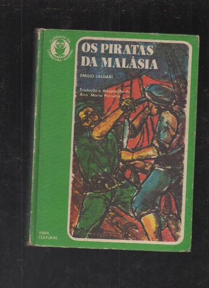 Livro Os Piratas Da Malásia- Emílio Salgari