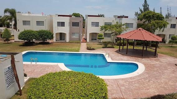 Casa Amueblada En Renta Villas Náutico, Altamira, Tam.