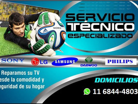 Servicio Tecnico Tv Samsung-sony-lg-philips-tcl-bgh-noblex