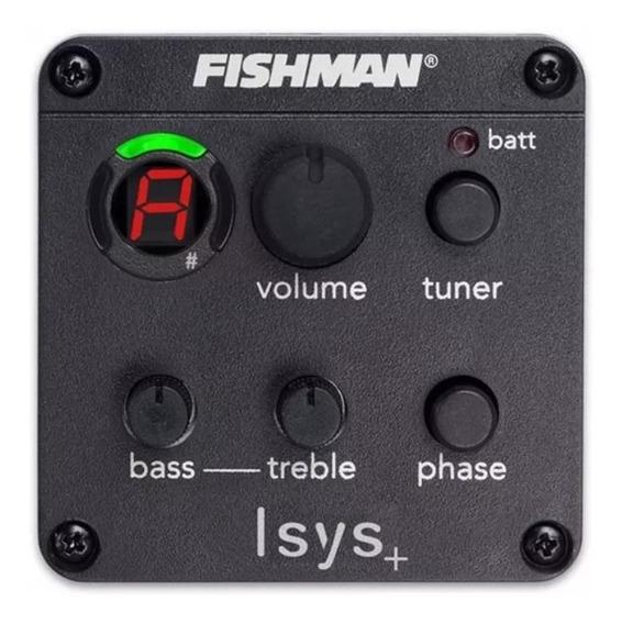 Preamplificador Fishman Isys Plus 301 Mic Nylon-acero