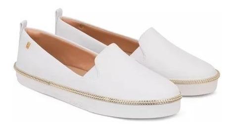 Pj1546 - Tênis Confortável Lupita Branco Petite Jolie - Novo