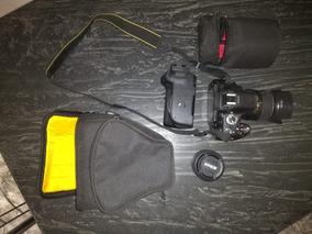Camera Nikon D5200, Com Lente 18-55mm E 50mm.