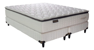 Sommier King Koil Kensington King 200x200cm blanco