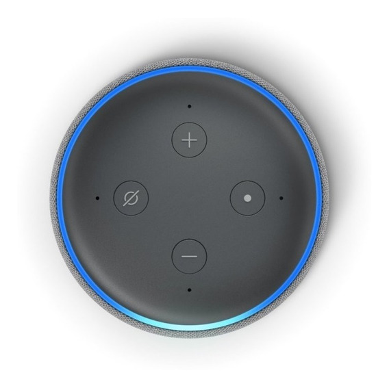 Echo Dot 3 Alexa Em Português Lançamento Casa Inteligente