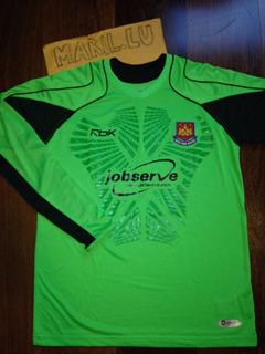 Camiseta Oficial West Ham United Inglaterra Goleiro Reebok M