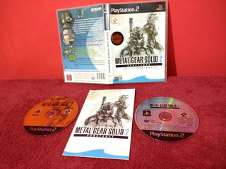 (pal) Metal Gear Solid 2 Substance Ps2 Original Español