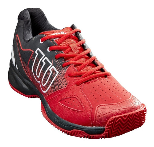 Imagen 1 de 5 de Zapatillas Padel Wilson Devo Bandeja Tenis Importada Hombre