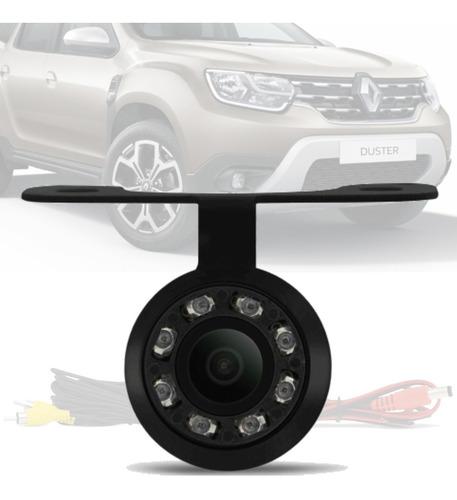 Imagem 1 de 4 de Camera De Ré Borboleta Led Visão Noturna Renault Duster