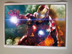 Homem De Ferro Poster Filme Vingadores
