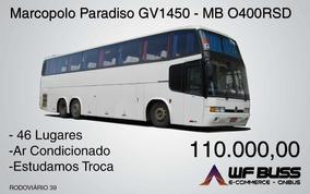 Marcopolo Paradiso Gv 1450 - Mercedes-benz O400rsd