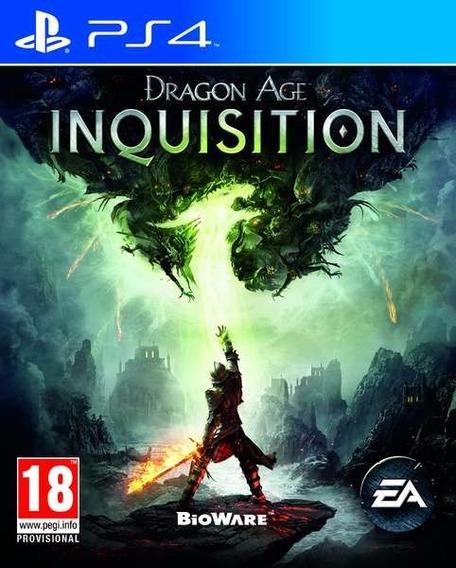 Dragon Age: Inquisition Ps4 Mídia Física