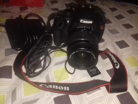 Camera Canon Rebel T5 Elrnt18-55mm/ 16gb +bolsa - Usada