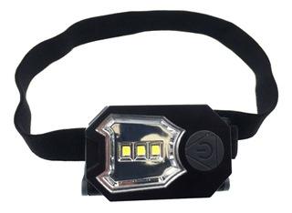 Lanterna De Cabeça 50 Lúmens Ajustável À Pilha Headlamp Ntk