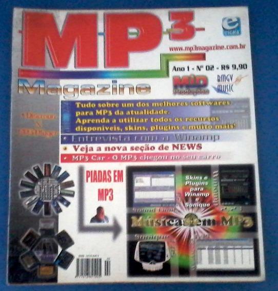 3 Revistas Mp3 Magazine (todas Com Cd-rom)
