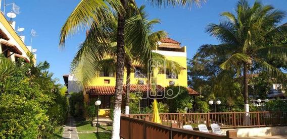Casa Com 3 Dormitórios À Venda, 140 M² Por R$ 600.000,00 - Camboinhas - Niterói/rj - Ca1026