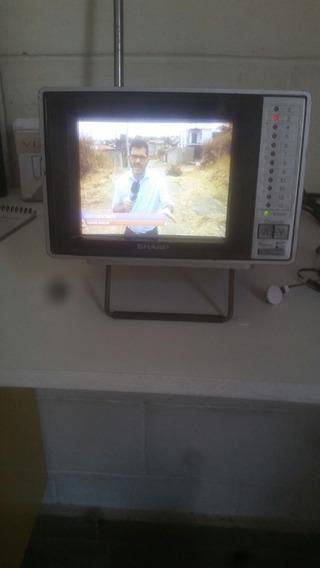 Tv/monitor Portátil Color Sharp