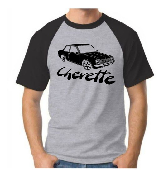 Camisa Camiseta Masculina Carro Chevette Chevetteiros Barato