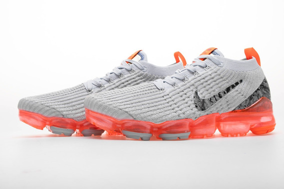 Zapatillas Nike Vapormax Flyknit 3.0 2019 Grey/orange 36/45