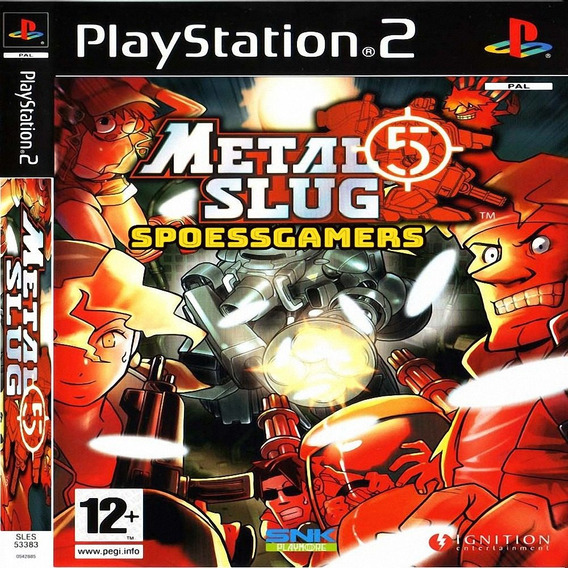 Metal Slug 5 Ps2 ( Tiro ) Patch . Me