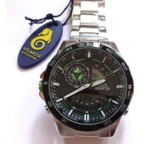 Relógio Masculino Original, Atlantis A - 3303,red Bull.