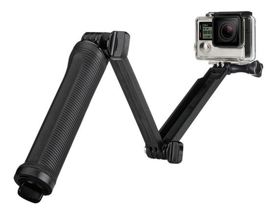 Bastão Gopro 3 Way Tripé Estabilizador Selfie