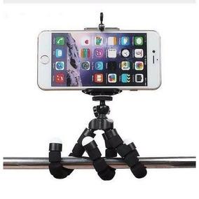 Suporte Mini Tripé Flexível Para Celular E Câmera Digital