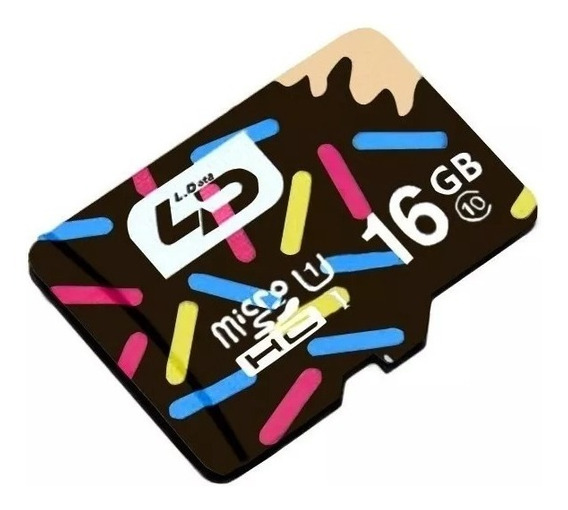 10 Cartão De Memória Micro Sdhc I 16gb Ld Classe 10 80m/s540