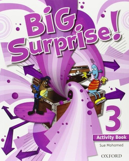 Big Surprise 3: Activity Book And Multi-rom Pack Sue Mohame
