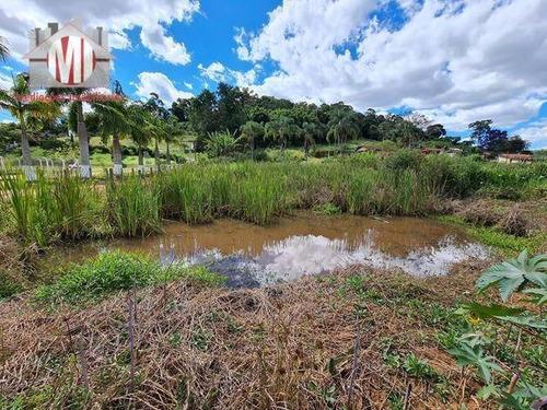 Lindo Terreno Com Lago, Córrego, Perto Da Cidade, Topografia Plano, À Venda 1.000 M² Por R$ 80.000 - Zona Rural - Pinhalzinho/sp - Te0393