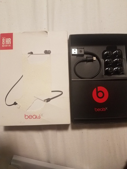 Fone Ouvido Beats X Bluetooth 100% Original Preto Completo