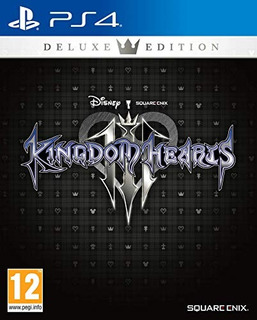 Ps4 Ps4 Kingdom Hearts 3 Deluxe Edition [p
