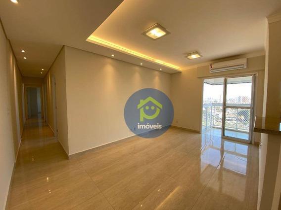 Apartamento Para Alugar No Madison Residence, 3 Dormitórios, 85 M² Por R$ 2.600/mês - Jardim Urano - São José Do Rio Preto/sp - Ap7506