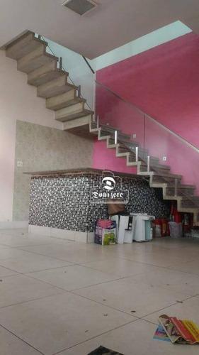 Prédio À Venda, 237 M² Por R$ 920.000,00 - Jardim - Santo André/sp - Pr0007