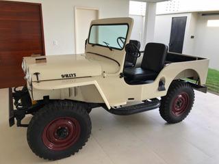 Jeep Willys Cj2a 1946