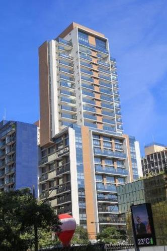 Imagem 1 de 13 de Apartamento Para Venda Em São Paulo, Vila Olímpia, 1 Dormitório, 1 Suíte, 2 Banheiros, 1 Vaga - 512_1-1949362
