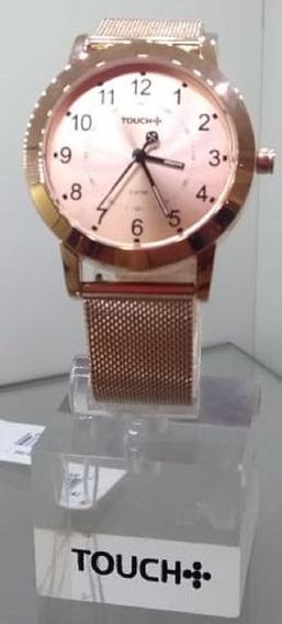 Relógio Rosé Feminino Touch