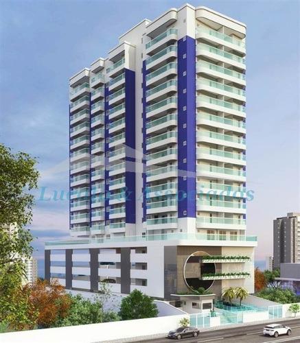 Apartamento Para Venda Na Aviação Em Praia Grande Sp, 02 Dormitórios, 02 Suítes E 02 Vagas De Garagem Com 87,72 M2 Área Útil Entrega Abril 2021 - Ap02183 - 68670785