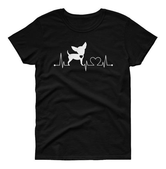 Playera Perro - Mascotas - Love Chihuahua Mod 1