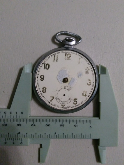 Reloj De Bosillo, Virtus Suizo, Art Deco, Para Reparar