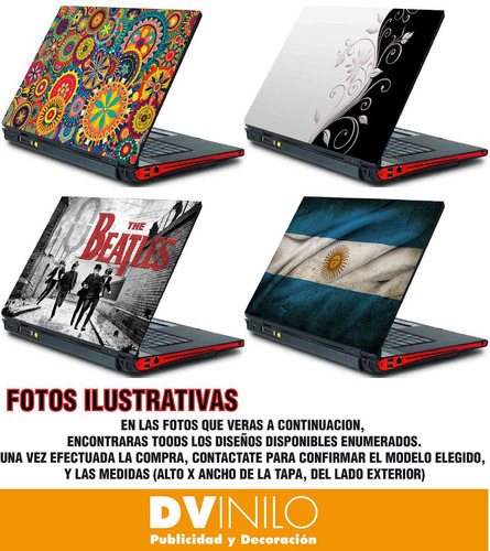 Vinilos Decorativos Para Notebook - Netbook