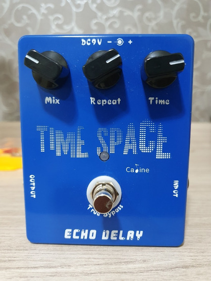 Pedal Caline Delay Time Space