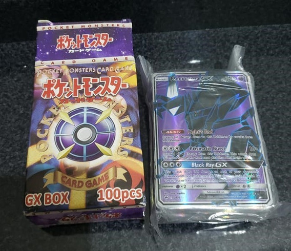 Lote #2- 100 Cartas Pokémon Tcg - Mega, Gx, Ex -versão China
