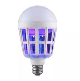 Lâmpada Luz Led 15 Watts Mata Mosquito Pernilongo 100% Nf
