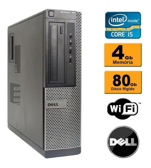 Dell Desktop Optiplex 990 Core I3 4gb Ddr3 Hd 80gb Rw