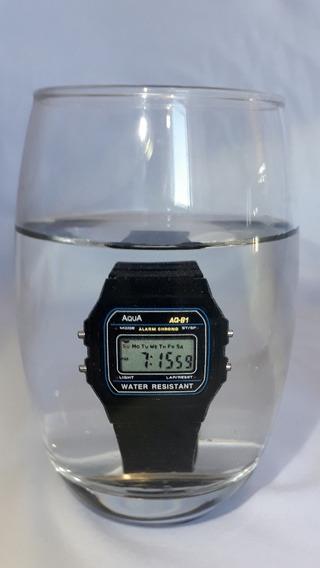 Kit 10 Relógio Aqua Aq81 Prova D