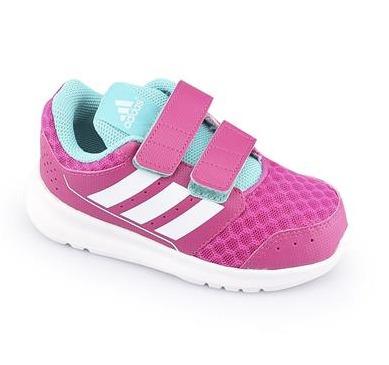 Tênis adidas Lk Sport 2 Cf Infantil Feminino + Kit De Meias Nike
