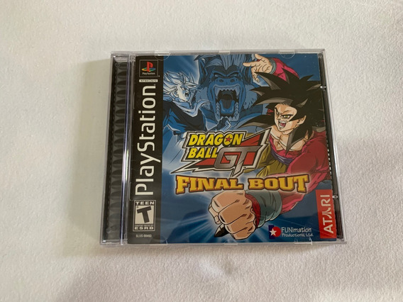 Dragon Ball Gt Final Bout Ps1 Original Completo