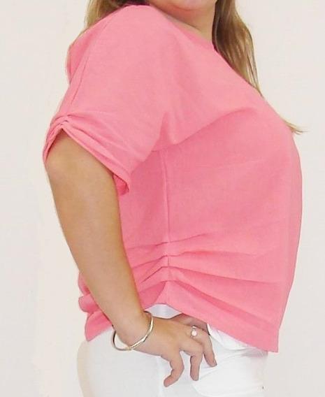 Blusa 100% Algodón Pre-lavado - Modelo Erika - Marca Plenia.